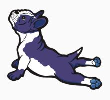 Boston Bull Terrier Puppy Purple Kids Clothes
