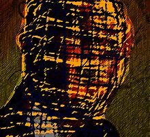 MAN IN THE BURBERRY MASK by Paul Quixote Alleyne