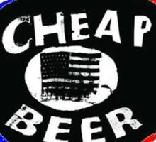 Fidlar Cheap Beer Sticker