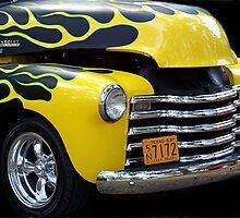 1953 Chevy Farm Truck by Glenna Walker