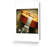 """""""Music is the art of thinking with sounds.""""  Greeting Card"""