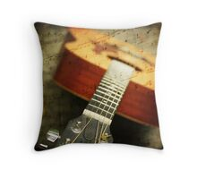 """""""Music is the art of thinking with sounds.""""  Throw Pillow"""