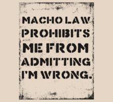 Macho Law by RedLemon