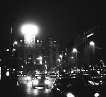 Brussels at Night  by Marsstation
