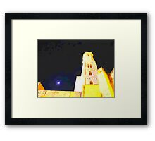 Sassari: cathedral bell tower Framed Print