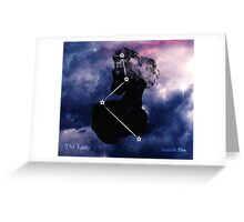 ES Birthsigns: The Lady Greeting Card