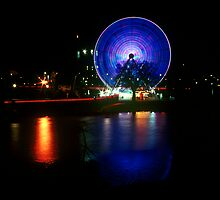 Melbourne Wheel by Nick Filshie