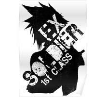 Cloud Strife ex-SOLDIER Poster