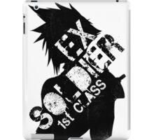 Cloud Strife ex-SOLDIER iPad Case/Skin