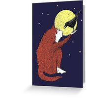 Raven and Fox Greeting Card