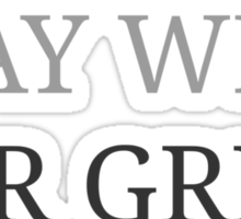 I want to Play with Mr Grey - (discrete image) Sticker
