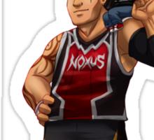 Dunkmaster Darius League of Legends Art Sticker