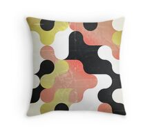 faded youth Throw Pillow