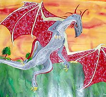 The Red Dragon by Sandy Wager