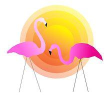 Flamingo Sunrise by missmarneyg
