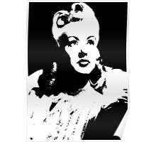 Betty Grable In Victory Rolls Poster