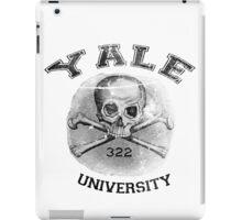 YALE university - Skull and Bones iPad Case/Skin