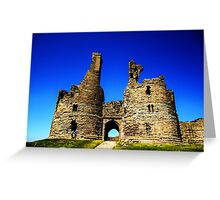 Into The  Blue Greeting Card
