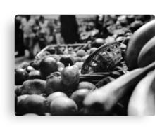 Fruit & A Basket Canvas Print