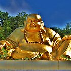 Shiny Happy Buddah by Lyndy
