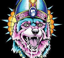 Pope Dog V2 by Tim Van Horn