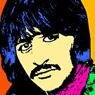 RINGO STARR-COLOURED by OTIS PORRITT