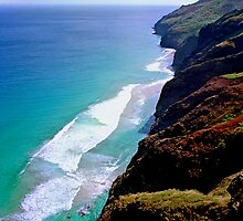 Na Pali Coastline by kevin smith  skystudiohawaii