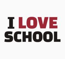 I love School by Designzz