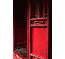The red door Photographic Print