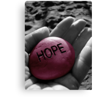 Hope Canvas Print