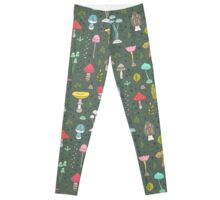 Mushrooms Leggings