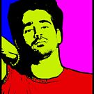 COLIN FARRELL-POP ART by OTIS PORRITT
