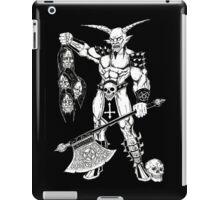 Goatlord Hero iPad Case/Skin