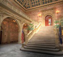 Inside the Matthew J. Ryan Building by Shelley Neff