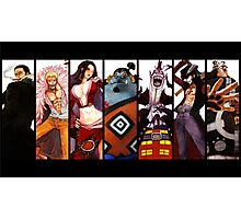 One Piece Warlords of The Sea Photographic Print