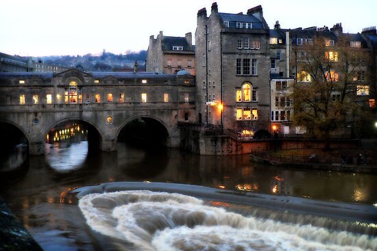 Pulteney Bridge Bath by Jude Glenn