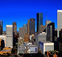 Downtown Houston Painted by Judy Vincent