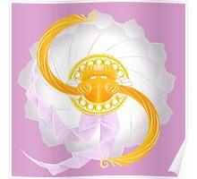 Spinning Senshi (Serenity) Poster