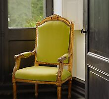 Green Chair by Julia Benbow