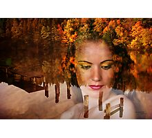 The Lady of lake Photographic Print
