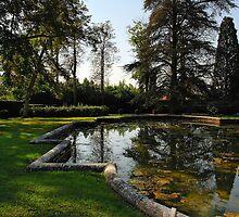 Italian Garden by bevanimage