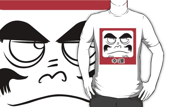 Daruma Tee - Square by shiro