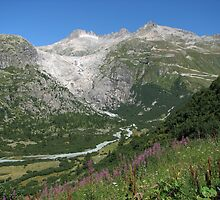 Furka Pass Glacier by grubb1980