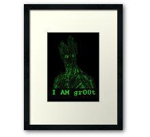 gr00t Framed Print