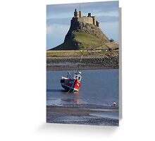 Castle & Boat Greeting Card
