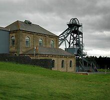 Woodhorn Colliery Ashington by Jackie Wilson