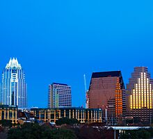 Austin Skyline by marymccabe
