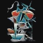 Abstract tee by Gili Orr
