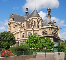Saint Eustache by Peter Reid