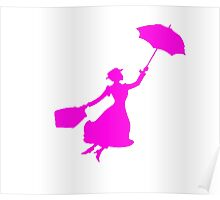 Pink Miss Poppins  Poster